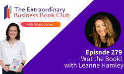 Episode 279 - Wot the Book! with Leanne Hamley
