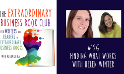 Episode 196 - Finding what works with Helen Winter